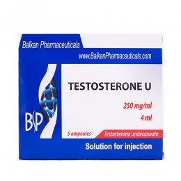 Testosterone U 1 amp/4 ml (250 mg/1 ml)