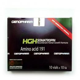 HGH Somatropin 10 флаконов по 10 iu