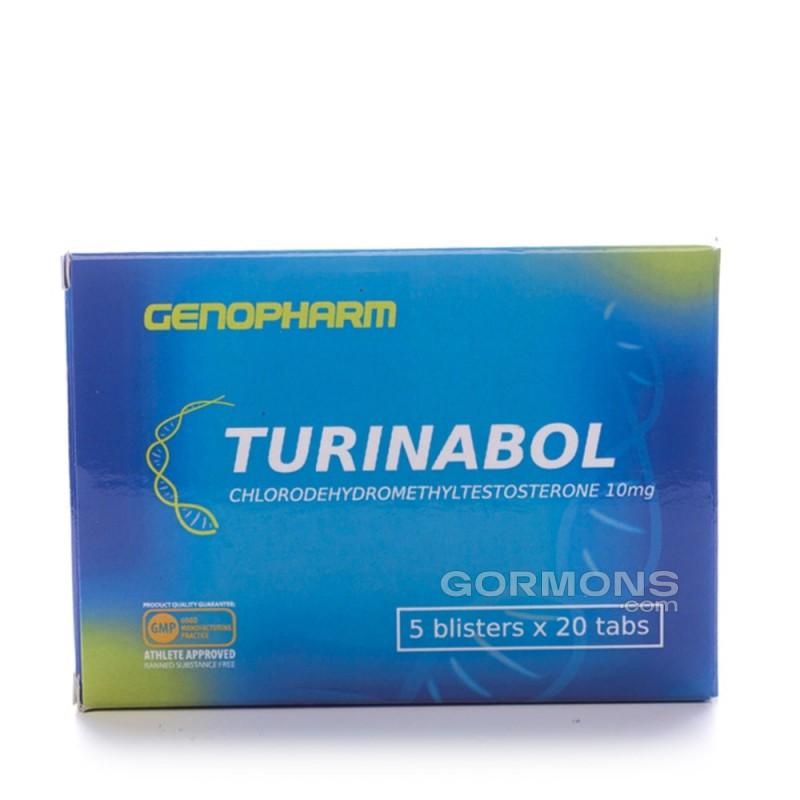 Turinabol 100 tabs (10 mg/1 tab)