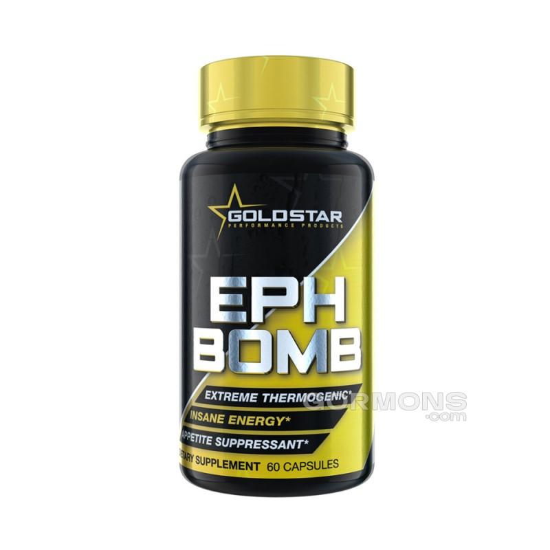 Gold Star EPH Bomb 60 капсул (50 мг Ephedra+DMAA)