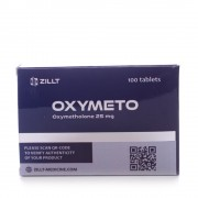 Oxymeto blister 25 tabs (25 mg / 1 tab)